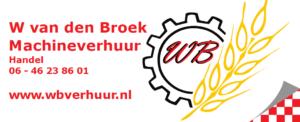 logo van den broek machineverhuur