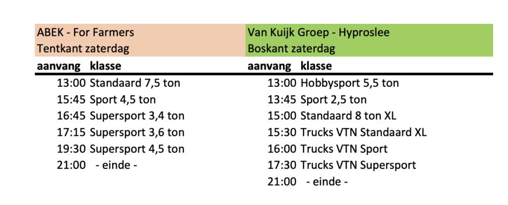 Programma Trekkertrek Boerdonk zaterdag 2021 definitief